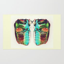Beetle in color Rug