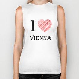 Vienna Classic. I love my favorite city. Biker Tank
