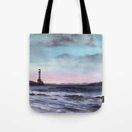 And So the Day Begins Tote Bag