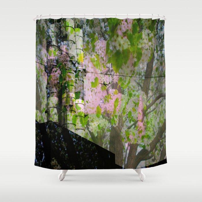 Luminosity Shower Curtain By Francesscanangel