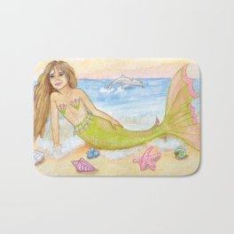 Seasprite Mermaid Bath Mat