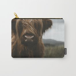 Scottish Highland Cattle Carry-All Pouch