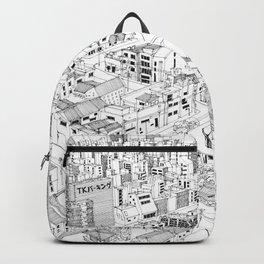 Asakusa, Japan Backpack