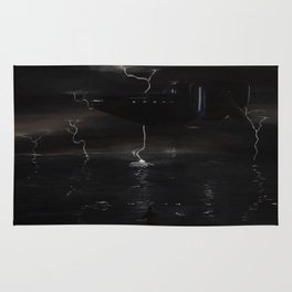 Coastal Storm Rug