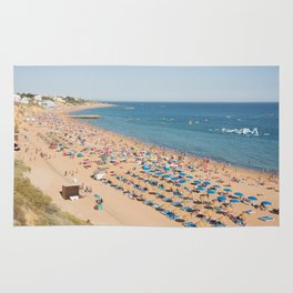 Albufeira beach Portugal Rug