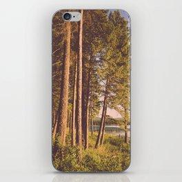 Retro Forest iPhone Skin