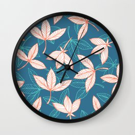 Drifting Down The River Wall Clock