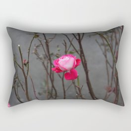 Bi-color rose Rectangular Pillow