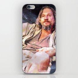HIS DUDENESS, DUDER, OR EL DUDERINO iPhone Skin