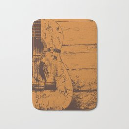 Trigger - Acoustic Guitar - Willie Nelson Bath Mat