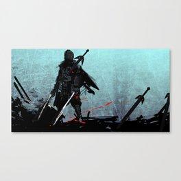 CYBER SAMURAI Canvas Print
