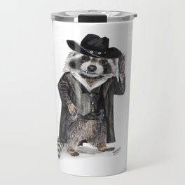 Raccoon Bandit Travel Mug
