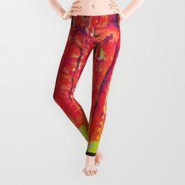 Forest in Flames Leggings