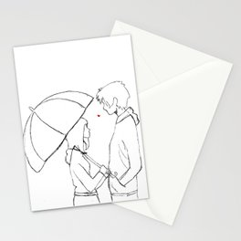 Red Sweater (rough) Stationery Cards