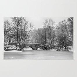 Stone Bridge at Clove Lakes Staten Island Rug