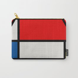 Mondrian Road Sign Carry-All Pouch