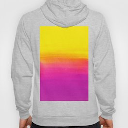 Fantasy in yellow and violet colors Hoody