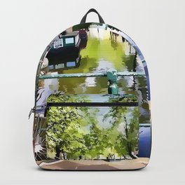 Amsterdam Canal Backpack