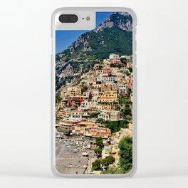 Positano's coast Clear iPhone Case