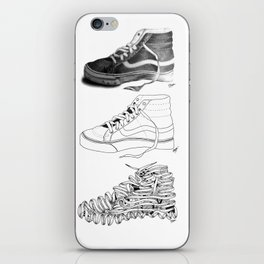 3 SHOES by Emmanuelle O'Bryan iPhone Skin