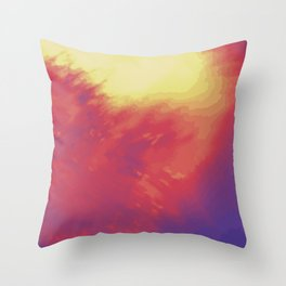 Psychedelica Chroma IV Throw Pillow