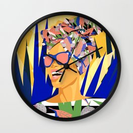 Summer feeling Wall Clock