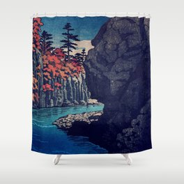 Hunker Down at Risna Shower Curtain