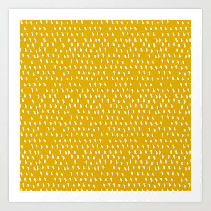 Yellow Modernist Kunstdrucke
