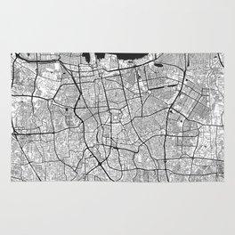 Jakarta Map Gray Rug