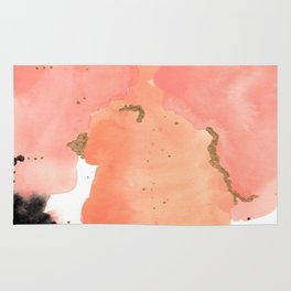 Calm Coral Daydreaming Rug