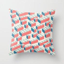Building Blocks Pattern – Colour Throw Pillow