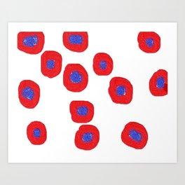 redblue3d Art Print