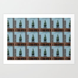 Pure Milk Montreal Art Print