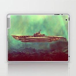 Golden Pirate Submarine Laptop & iPad Skin