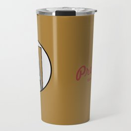 Preferred Services of WNY in Maroon Travel Mug