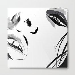 Lulù Metal Print