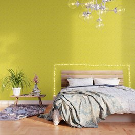 Watermelons in Yellow Wallpaper