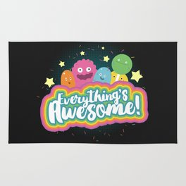 Everything's Awesome! Rug