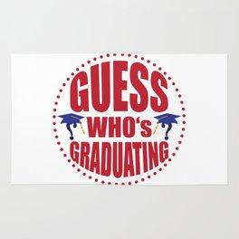 Gues$ who's graduating Rug
