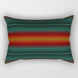 Knitted Rectangular Pillow