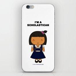 I'm A Scholastican iPhone Skin