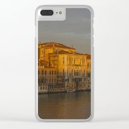 A view of Venice Clear iPhone Case