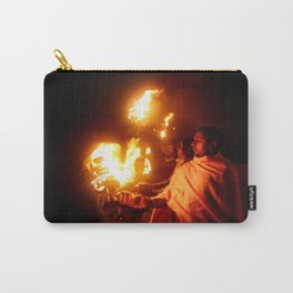 Fire on the Ganga River Carry-All Pouch