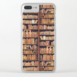 Books, books, books Clear iPhone Case