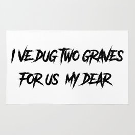 Two Graves Rug