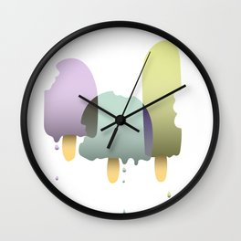 The three ice cream musketeers Wall Clock