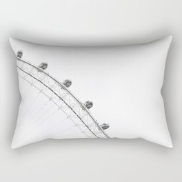 London Eye Monochrome Rectangular Pillow
