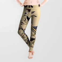 Vintage poster - Victory Girls Leggings