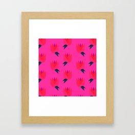 Pond Buds Framed Art Print