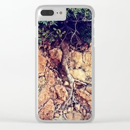 Growing up growing down Clear iPhone Case